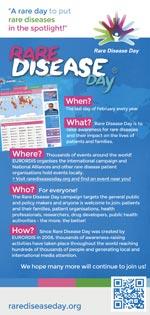 Rare Disease Day Flyer
