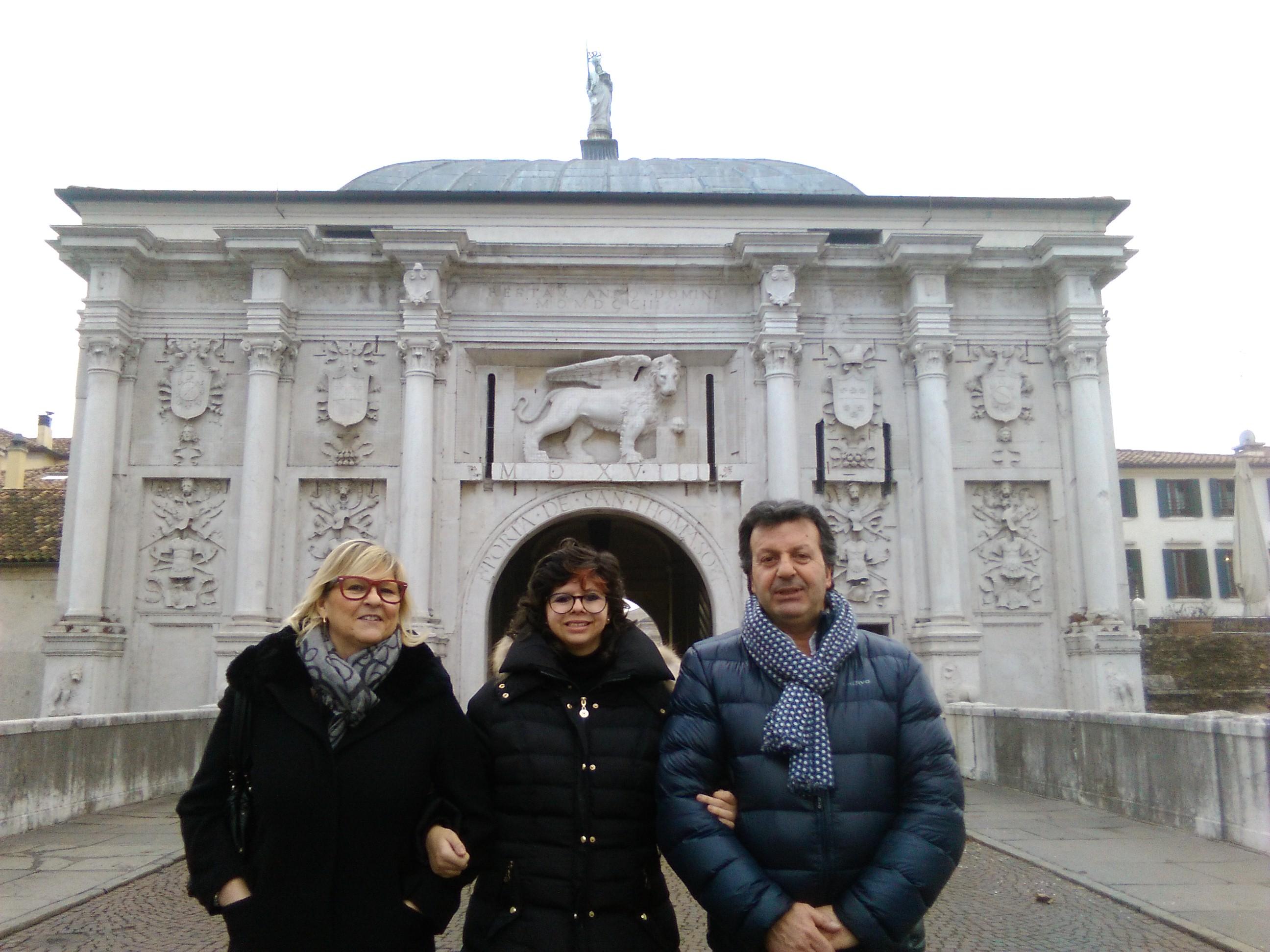 Elisa and her parents